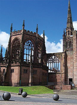 Coventry Cathedral now