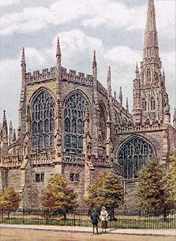 Coventry Cathedral (formerly St Michael's) c. 1935