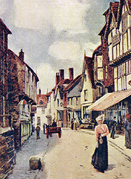 Butcher Row c. 1900